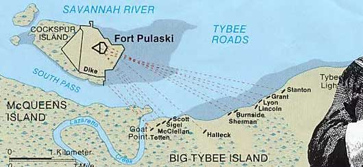 Tybee History Tour Map