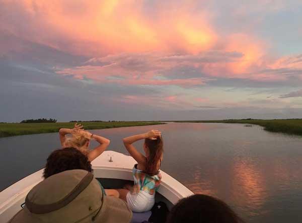Tybee Island Boat Ride